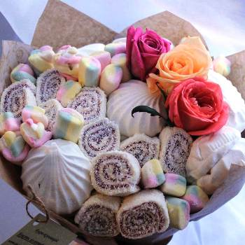 Букеты из конфет своими руками с пошаговыми фото 71